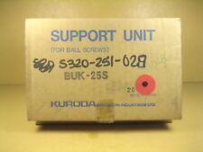 Kuroda  BUK-25S  Support Unit for Ball Screws