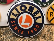 LIONEL SINCE 1900 railroad RAILWAY TOYS  full backed refrigerator MAGNET