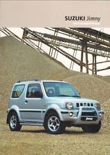 SUZUKI JIMNY accessori 2003-04 UK Opuscolo Vendite sul mercato