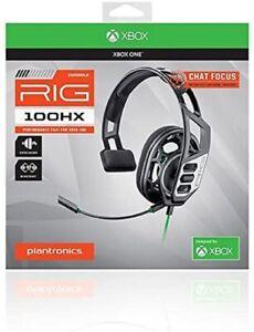 Plantronics RIG 100HX Mono Gaming Headset (Black) for Xbox One
