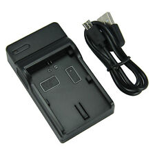 Camera Battery Charger Canon LP-E6 EOS 5D Mark III Mk II 7D 60D USB charging