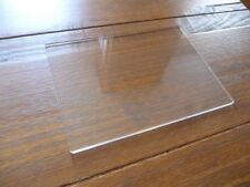 9 Inch Rectangle Cake Plate Acrylic Cake Decorating Board 9""
