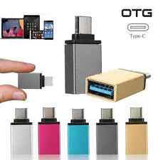 HOT Type C Male to USB 3.0 Female OTG USB 3.1 Data Sync Charge Adapter Converter