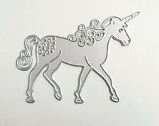 Unicorn Horse Metal Cutting Dies Stencil DIY Scrapbooking Card Paper Embossing
