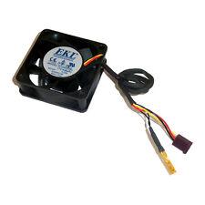 EKL 12V 0,09 a 60mm x 20mm 3 Pin ventilatore con sensore di temperatura r126020bl