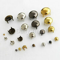 Brass claw rivets Round punk studs clothing garment leather craft bag accessory