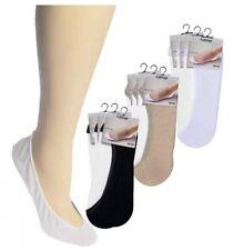 6 Paar Füßlinge Ballerinas Footies Baumwolle Damen und Herren CH-120