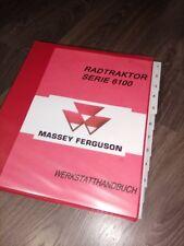 MASSEY FERGUSON MF 6160 6170 6180 6190 REPARATURHANDBUCH WERKSTATTHANDBUCH