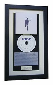 RIDE Weather Diaries CLASSIC CD Album GALLERY QUALITY FRAMED+EXPRESS GLOBAL SHIP