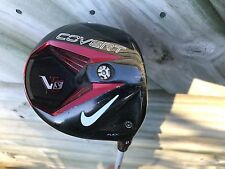 NIKE VRS COVERT BLACK 1 WOOD DRIVER GOLF CLUB VTS STIFF FLEX GRAPHITE SHAFT