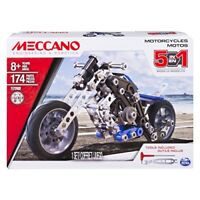 Meccano 6036044 5 Model Motorcycle Set