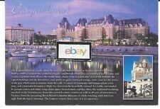 EMPRESS HOTEL VICTORIA B.C.,CANADA  DID YOU KNOW? POSTCARD