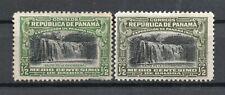 "PANAMA 1915, Sc.204 VARIETY ""green/black"" instead olivegreen/black"