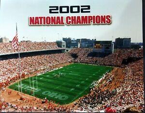 OHIO STATE 2002 NCAA National Champions 8x10 Photo Go Buckeyes!