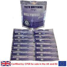28 Hollywood Glow Professional Strength Enamel Safe Teeth Whitening Strips
