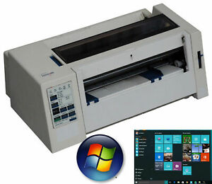 A4 A5 Stampante ad Aghi Dot Lexmark 2380 Compatibile Con Windows XP Win 7 10