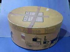 Vintage Dobb's Fifth Avenue Hats New York Hat Box Gold Form 02h5