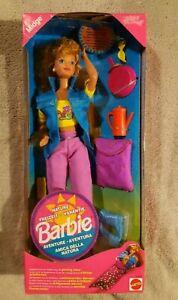 Barbie NATURE MIDGE Freizeit Camping Puppe Mattel 1993 #11077 OVP NRFB Vintage