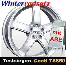 """16"""" ABE Winterradsatz TEC SL Conti TS850 205/55 für Toyota Auris II E15UT(a) N"""