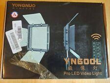 Yongnuo YN-600 3200 -  5500K color temperature LED video light YN600 YN600L Kit