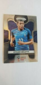 2018 Panini Prizm Soccer No 80 Kylian Mbappe Rookie Card, France