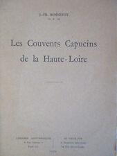 Les couvents Capucins de la Haute Loire J Fr BONNEFOY