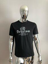 New Men's BRIXTON Premium Fit Black Color T-Shirt Size M