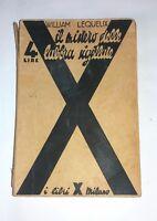 Il mistero delle labbra sigillate -  I Libri X, 1933