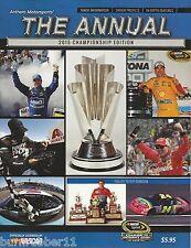 2015 NASCAR ANTHEM MOTORSPORTS CHAMPIONSHIP EDITION JEFF GORDON LOGANO MAGAZINE