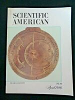 SCIENTIFIC AMERICAN 1986 Gyroscopes Islamic Astronomy Bird Migration Trumpets