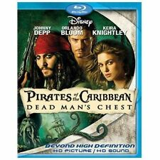 Pirates of the Caribbean: Dead Mans Chest (Blu-ray Disc, 2007)
