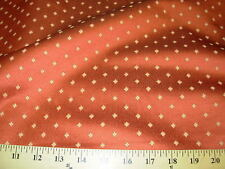 ~3 YDS~DIAMOND DOTS~EMBROIDERED UPHOLSTERY FABRIC~FABRIC FOR LESS~