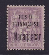 COLONIES FRANCAISES MADAGASCAR N°   22 * neuf charnière, TB, cote: 250 €