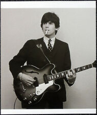 THE ROLLING STONES POSTER PAGE 1965 KEITH RICHARDS & EPIPHONE CASINO GUITAR I102