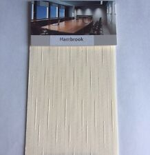 3.5 inch vertical blind fabric - full roll 100 metre - Hambrook Cream