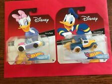 Disney hot Wheels Exclusive Daisy & Donald Duck Car Rare-Not in Series 1-7