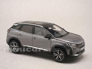 PEUGEOT 3008 2020 GRIS, voiture miniature 1/43e NOREV 473921