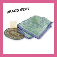 American Girl_Kit's TUFTED BEDDING SET_Bedtime Accessories_NEW_MIB_Retired_RARE