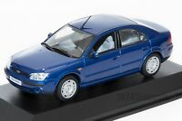 Ford Mondeo Mk3 4dr Blue, dealership model, Minichamps 1:43 scale, car gift