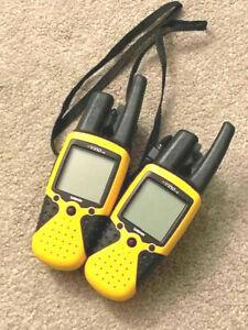 LOT OF 2  GARMIN RINO 110 2-WAY RADIO / HANDHELD GPS
