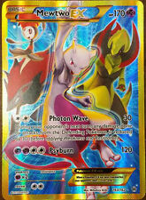 Pokemon TCG XY BREAKTHROUGH : MEWTWO EX FULL ART 163/162 (SECRET - BLUE)