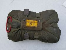 C-9  28 FOOT CHEST PACK PARACHUTE/ RESERVE PARACHUTE COMPLETE & IS PACKED