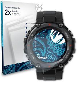 Bruni 2x Écran protecteur pour Amazfit T-Rex Pro Protecteur d'écran