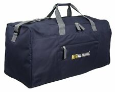 Mens EXTRA LARGE BIG Sports & Gym Duffle Holdall Bag TRAVEL WORK NAVY BLUE 2016