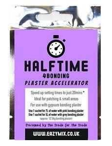 Eazymix Halftime 4Bonding Plaster Accelerator (Pack of 2)