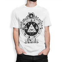 Bill Cipher Gravity Falls Art T-Shirt, High Quality Cotton Tee