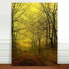 "John Atkinson Grimshaw October Gold ~ FINE ART CANVAS PRINT 36x24"""