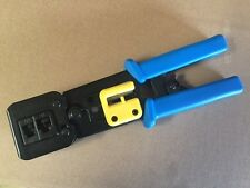 2 x EZ-RJ45 Crimping tool for EZ CAT5/6/6e connector-- Free Fast Shipping In USA