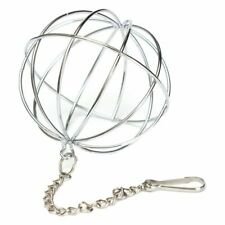 Hanging Ball Toy Sphere Treat For Guinea Pig Hamster Rat Rabbit Feed Dispen A4X5