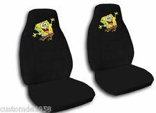 SPONGEBOB CAR SEAT COVERS..ANY COLOUR SEAT COVERS...WE MAKE FOR ALL CARS...